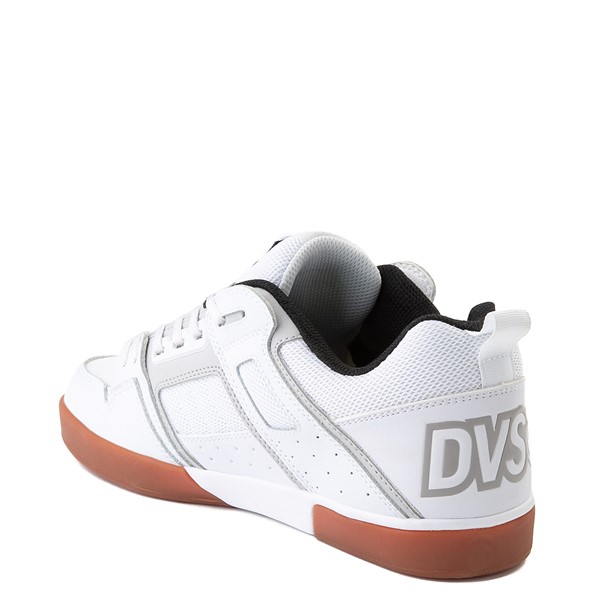 alternate view Mens DVS Comanche 2.0+ Skate Shoe - White / Gray / GumALT2