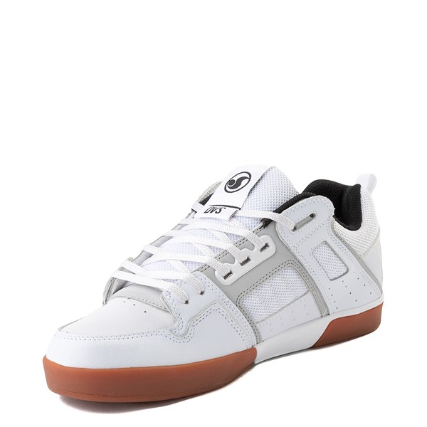 alternate view Mens DVS Comanche 2.0+ Skate Shoe - White / Gray / GumALT3
