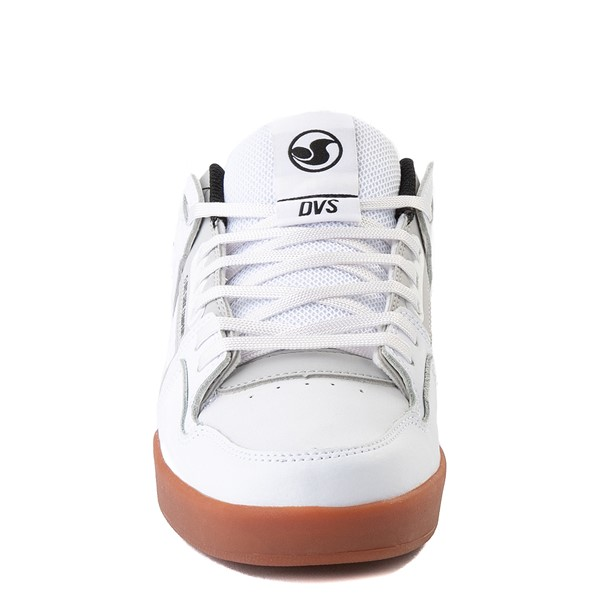 alternate view Mens DVS Comanche 2.0+ Skate Shoe - White / Gray / GumALT4