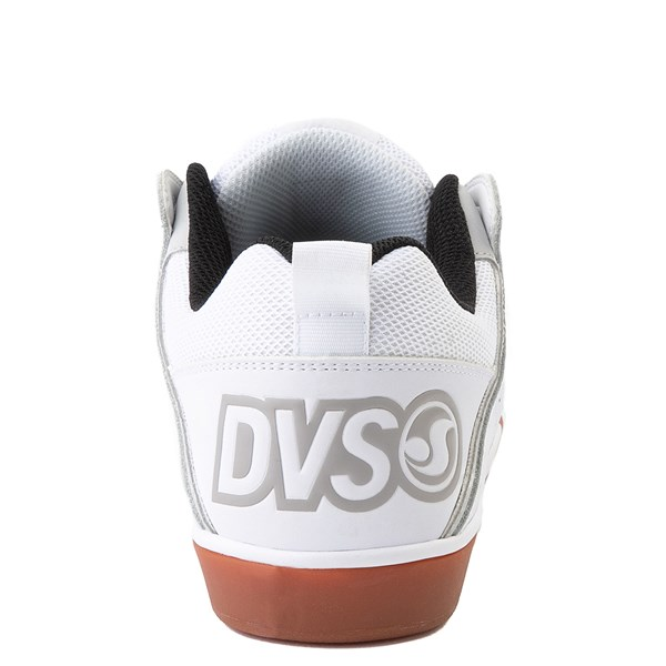 alternate view Mens DVS Comanche 2.0+ Skate Shoe - White / Gray / GumALT6