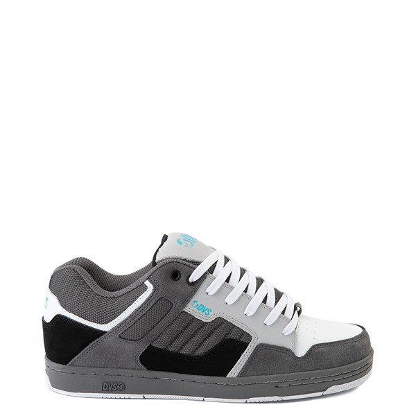 Mens DVS Enduro 125 Skate Shoe - Gray / Black / White
