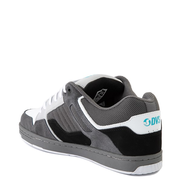 alternate view Mens DVS Enduro 125 Skate Shoe - Gray / Black / WhiteALT1