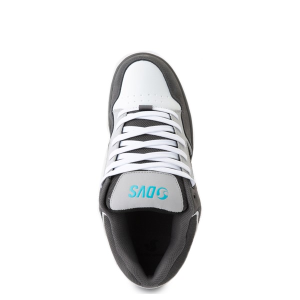 alternate view Mens DVS Enduro 125 Skate Shoe - Gray / Black / WhiteALT2