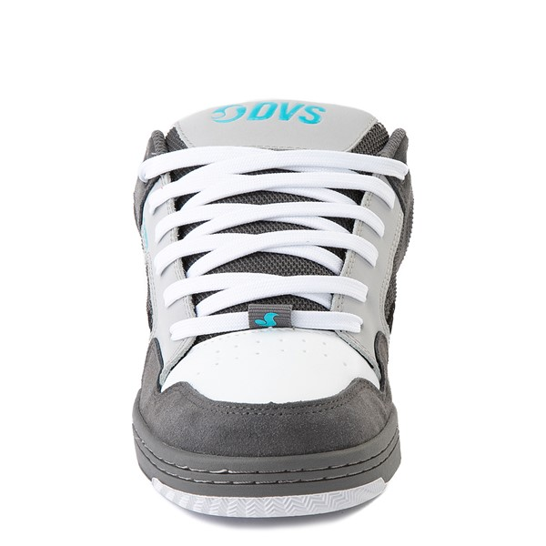 alternate view Mens DVS Enduro 125 Skate Shoe - Gray / Black / WhiteALT4
