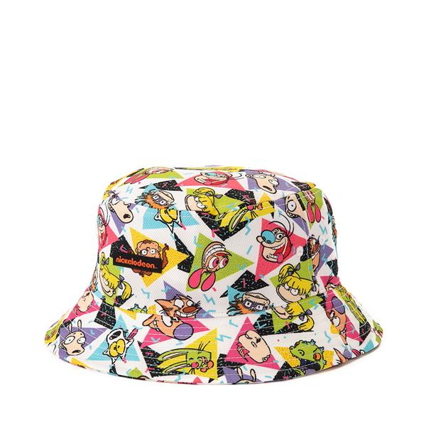 alternate view Nickelodeon Bucket Hat - White / MulticolorALT1