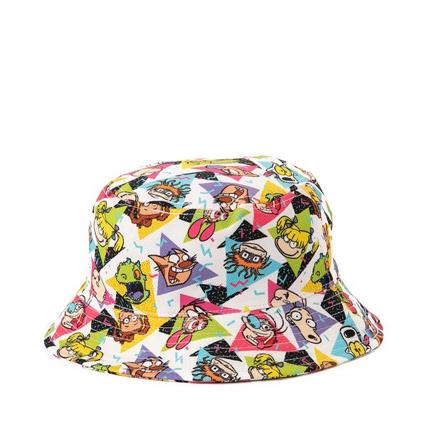 alternate view Nickelodeon Bucket Hat - White / MulticolorALT2