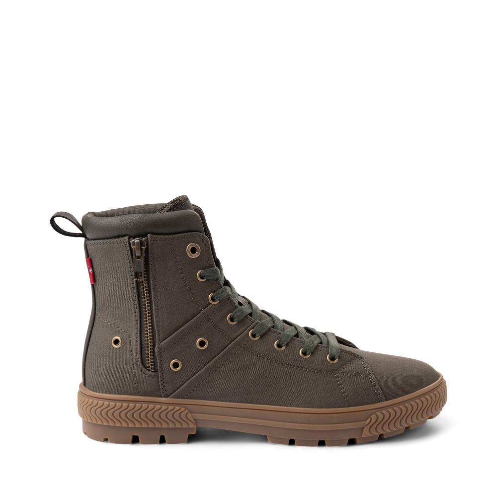 Mens Levi's Sahara 2 Boot - Olive