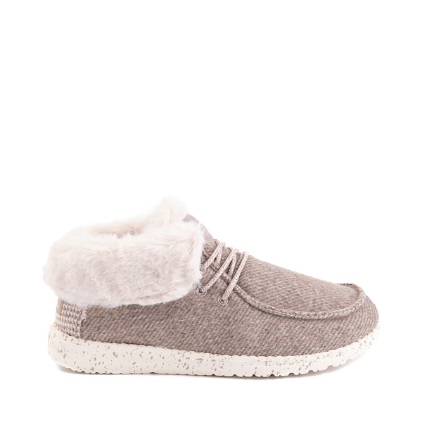 Womens Hey Dude Britt Casual Shoe - Nut