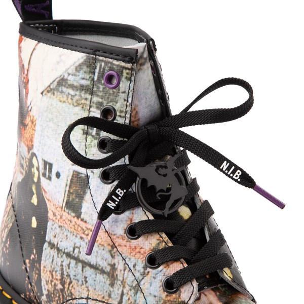 alternate view Dr. Martens 1460 8-Eye Black Sabbath Boot - BlackALT1C