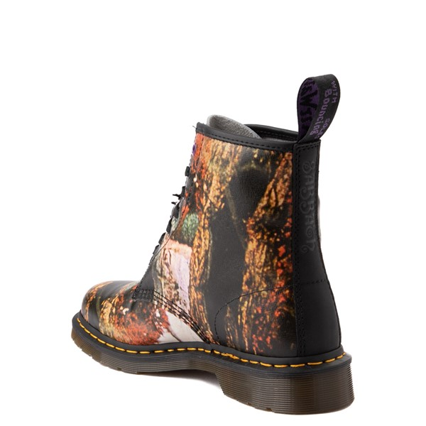 alternate view Dr. Martens 1460 8-Eye Black Sabbath Boot - BlackALT2