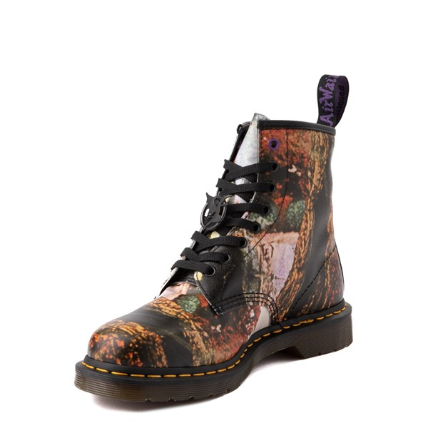 alternate view Dr. Martens 1460 8-Eye Black Sabbath Boot - BlackALT3