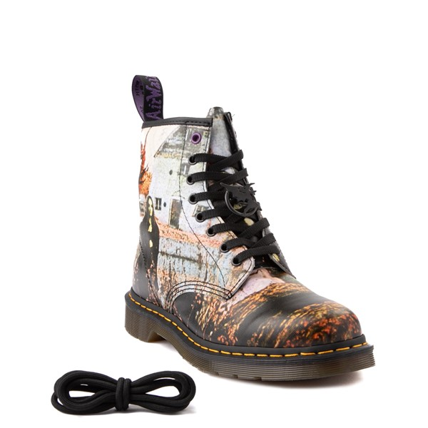 alternate view Dr. Martens 1460 8-Eye Black Sabbath Boot - BlackALTB
