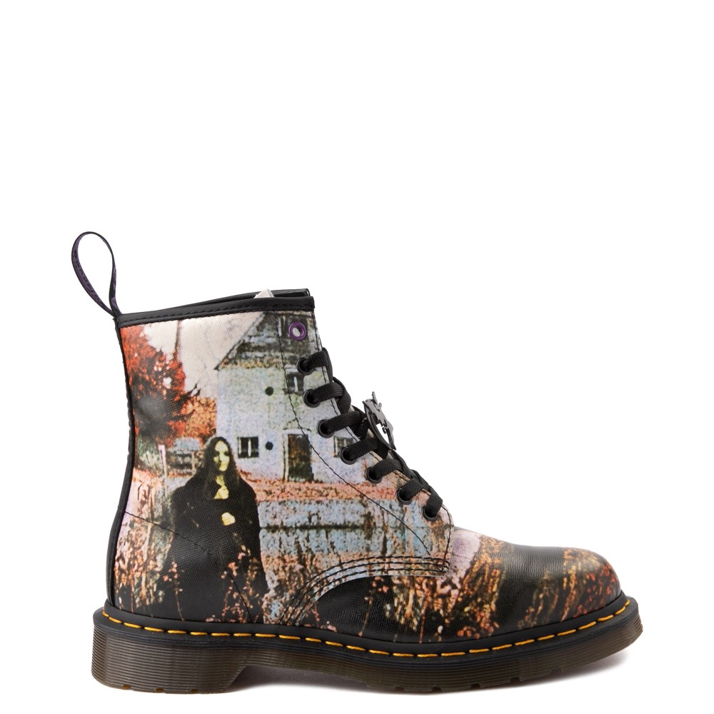 Dr. Martens 1460 8-Eye Black Sabbath Boot - Black