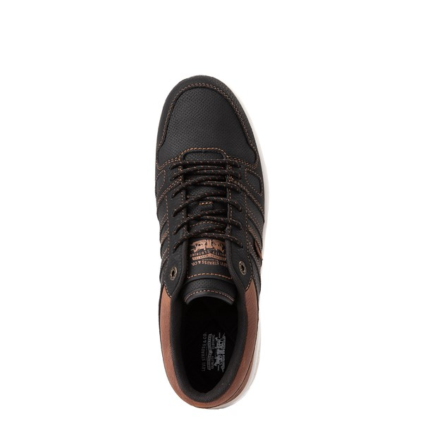alternate view Mens Levi's 520 BB Lo Casual Shoe - BlackALT2