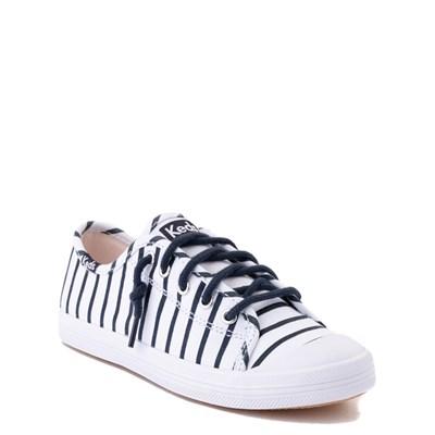 Alternate view of Keds Kickstart Casual Shoe - Toddler / Little Kid / Big Kid - White / Navy