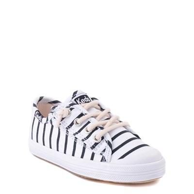 Alternate view of Keds Kickstart Casual Shoe - Baby / Toddler / Little Kid - White / Navy