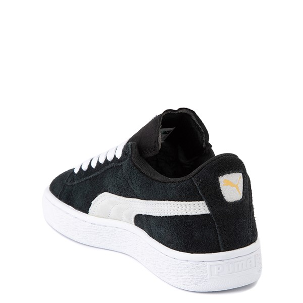 alternate view Puma Suede Athletic Shoe - Big Kid - BlackALT1