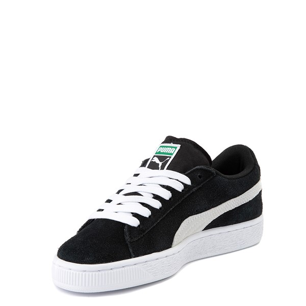 alternate view Puma Suede Athletic Shoe - Big Kid - BlackALT2