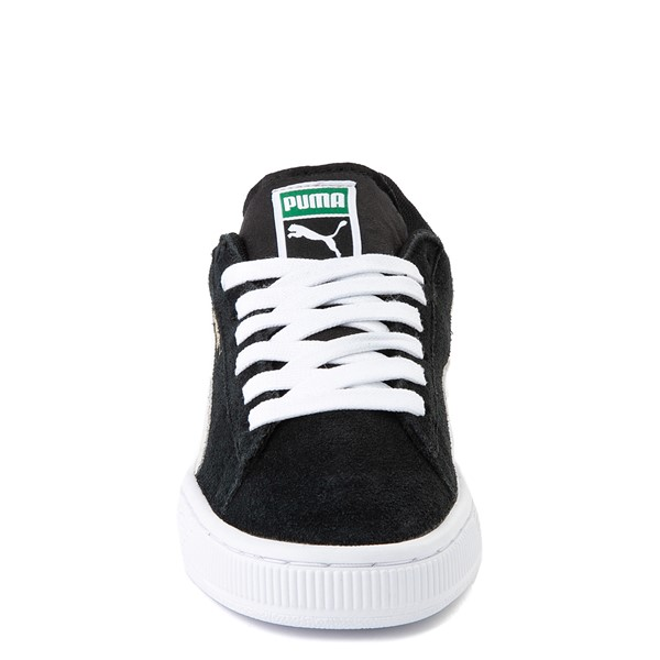 alternate view Puma Suede Athletic Shoe - Big Kid - BlackALT4