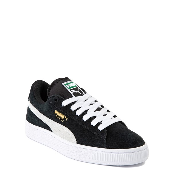alternate view Puma Suede Athletic Shoe - Big Kid - BlackALT5