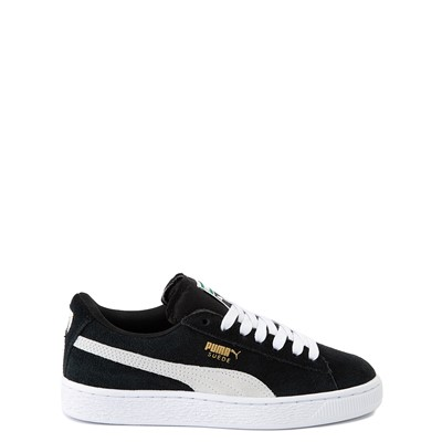 Main view of Puma Suede Athletic Shoe - Big Kid - Black