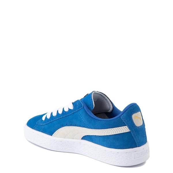alternate view Puma Suede Athletic Shoe - Big Kid - Royal BlueALT1