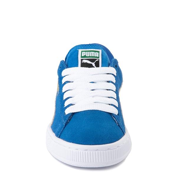 alternate view Puma Suede Athletic Shoe - Big Kid - Royal BlueALT4