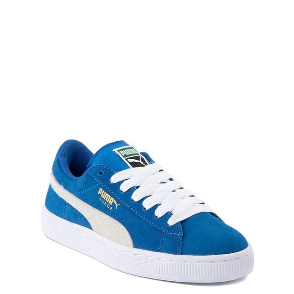alternate view Puma Suede Athletic Shoe - Big Kid - Royal BlueALT5