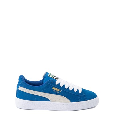 Main view of Puma Suede Athletic Shoe - Big Kid - Royal Blue