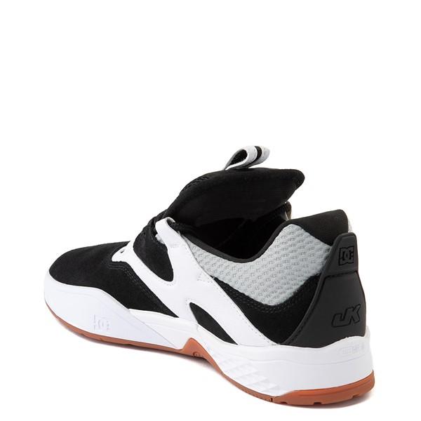 alternate view Mens DC Kalis SE Skate Shoe - White / BlackALT2