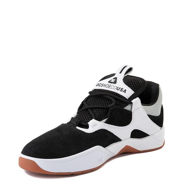 alternate view Mens DC Kalis SE Skate Shoe - White / BlackALT3