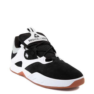 Alternate view of Mens DC Kalis SE Skate Shoe - White / Black
