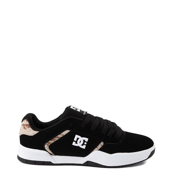 Main view of Mens DC Central Skate Shoe - Black / Desert Camo