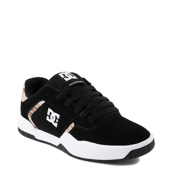 alternate view Mens DC Central Skate Shoe - Black / Desert CamoALT1