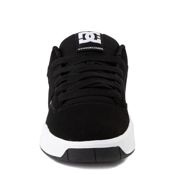 alternate view Mens DC Central Skate Shoe - Black / Desert CamoALT4