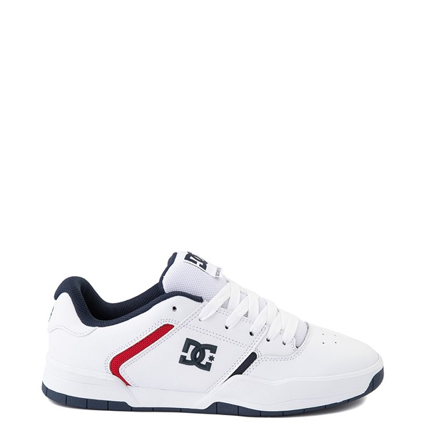 Mens DC Central Skate Shoe - White