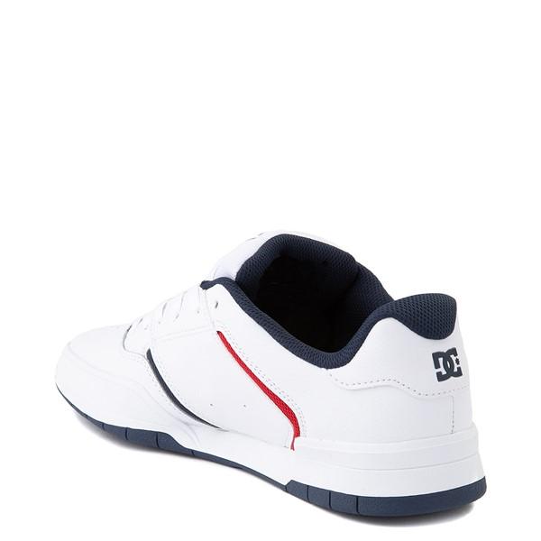 alternate view Mens DC Central Skate Shoe - WhiteALT2