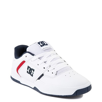 Alternate view of Mens DC Central Skate Shoe - White