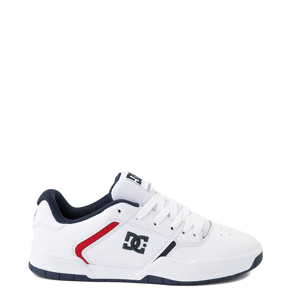 Mens DC Central Skate Shoe - White