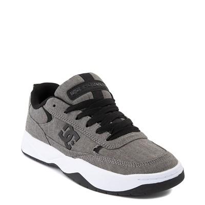 Alternate view of Mens DC Penza TX SE Skate Shoe - Heather Gray
