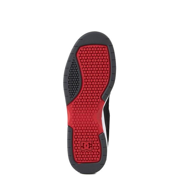 alternate view Mens DC Penza Skate Shoe - Gray / Black / RedALT5