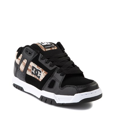 Alternate view of Mens DC Stag Skate Shoe - Black / Desert Camo