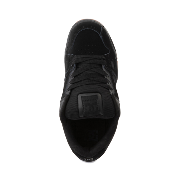 alternate view Mens DC Stag Skate Shoe - Black / GumALT2