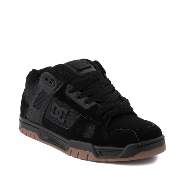 alternate view Mens DC Stag Skate Shoe - Black / GumALT5