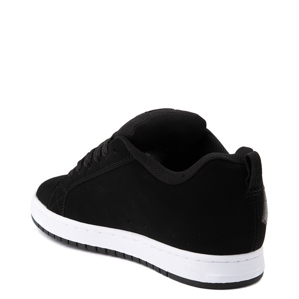 alternate view Mens DC Court Graffik SE Skate Shoe - Black / GrayALT2