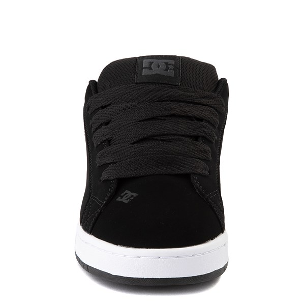 alternate view Mens DC Court Graffik SE Skate Shoe - Black / GrayALT4