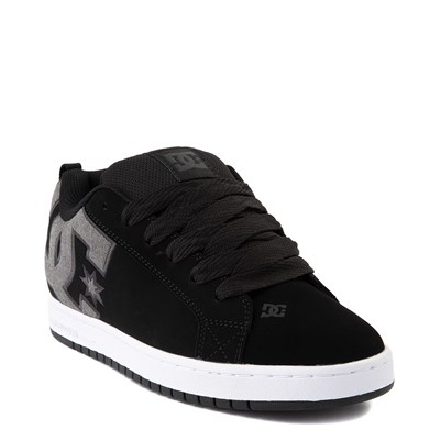 Alternate view of Mens DC Court Graffik SE Skate Shoe - Black / Gray