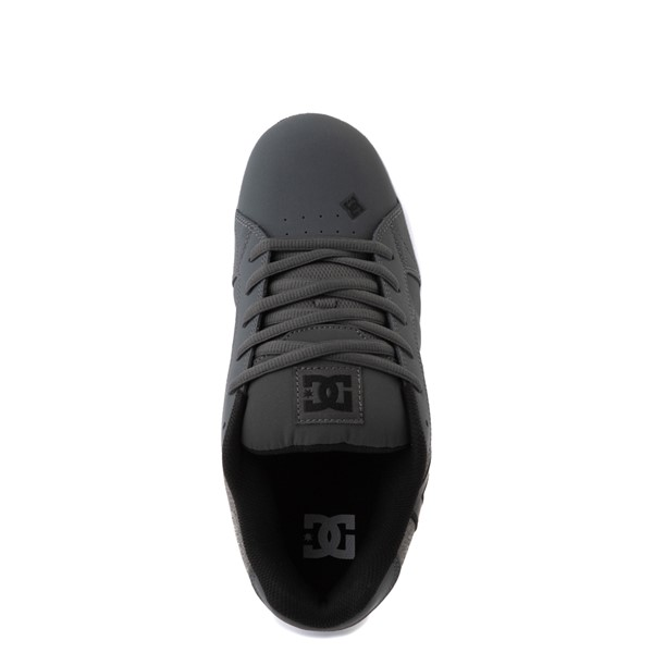 alternate view Mens DC Net SE Skate Shoe - Gray / BlackALT4B