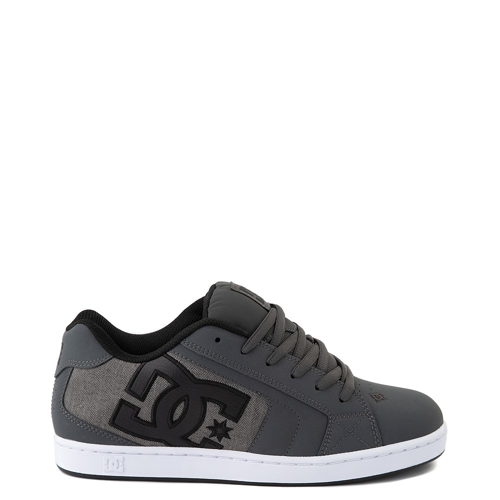 Mens DC Net SE Skate Shoe - Gray / Black