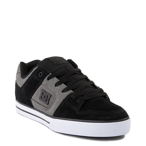 alternate view Mens DC Pure SE Skate Shoe - Gray/GrayALT1